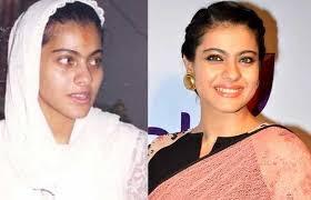 kajol-makeup-&without-makeup