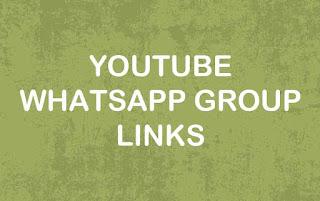 YouTube WhatsApp Group Link