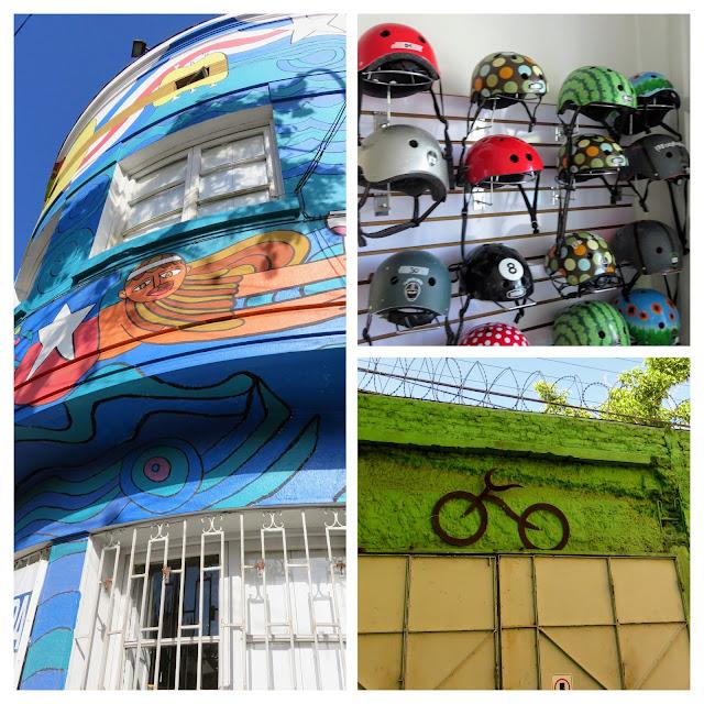La Bicicleta Verde bicycle tour office in Santiago Chile