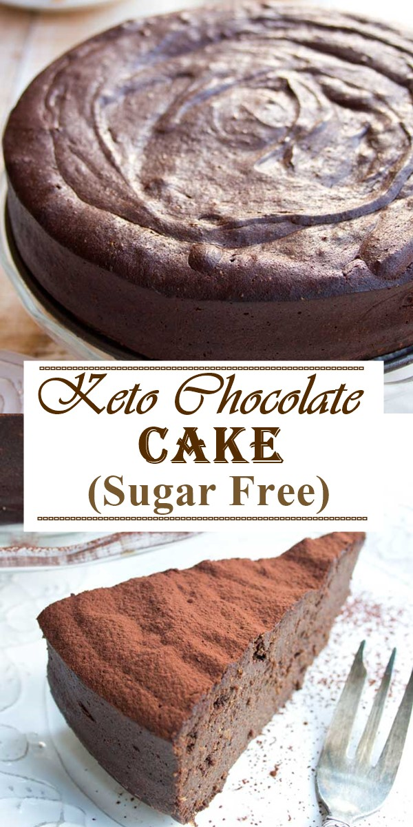 Best Ever Keto Chocolate Cake (Sugar Free)