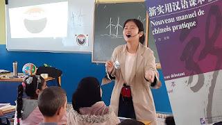 طنجة انطلاق دروس اللغة الصينية بمدرسة بوكدور الإبتدائية