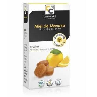 Παστίλιες με μέλι MANUKA & χυμό λεμονιού