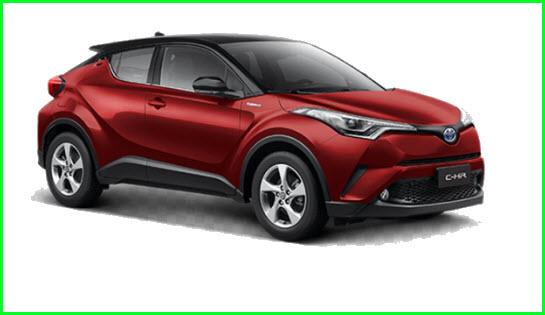Harga Mobil Toyota CHR dan Review Spesifikasinya