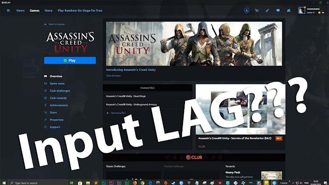 Input delay ketika menggunakan gamepad ya?