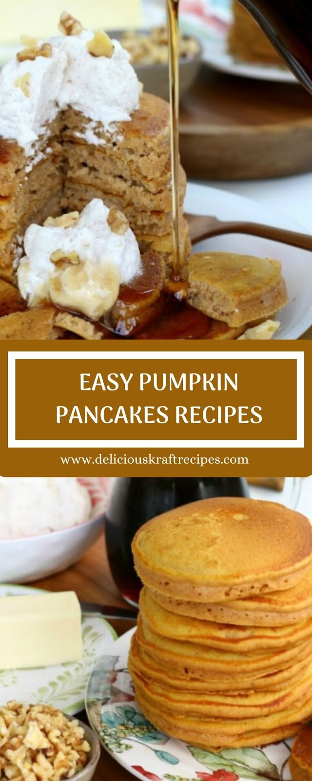 EASY PUMPKIN PANCAKES RECIPES