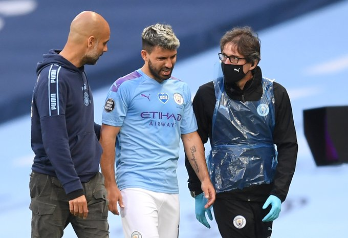 Aguero's injury doesn't look good – Pep Guardiola