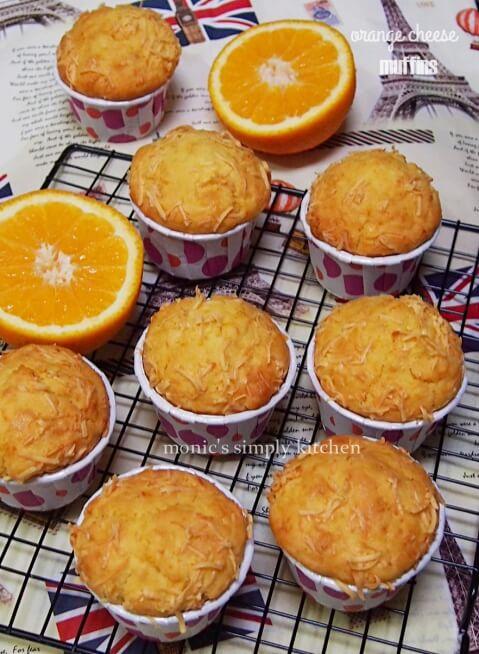 resep muffin jeruk keju