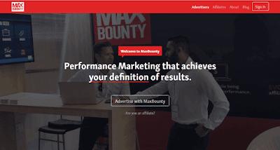 شرح موقع MaxBounty
