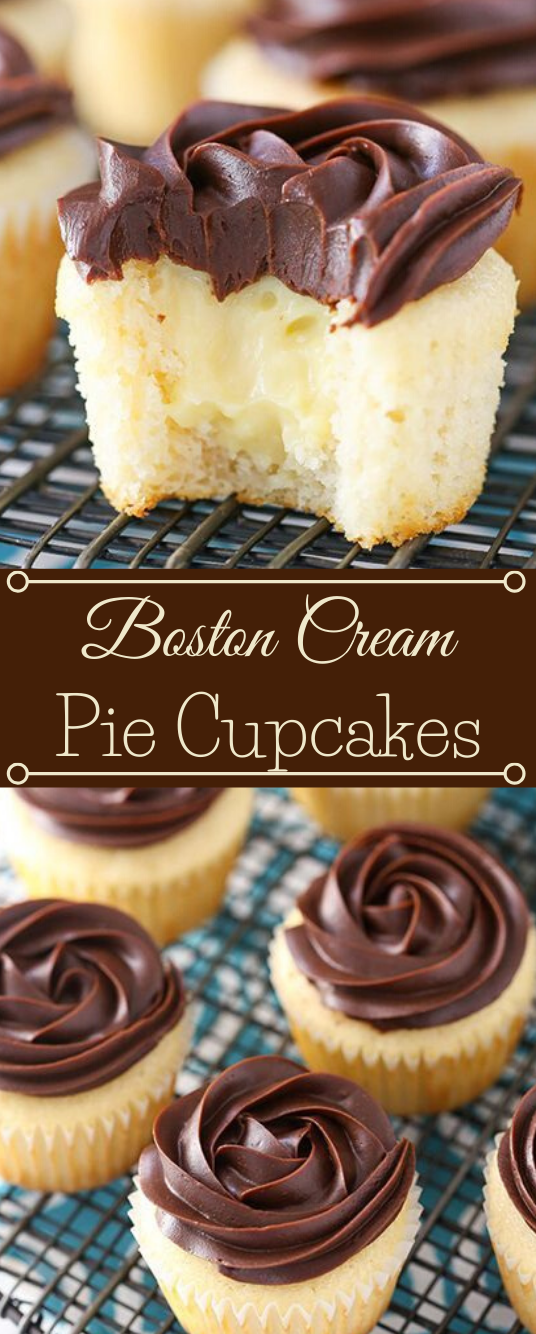 BOSTON CREAM PIE CUPCAKES #desserts #cupcakes #pie #snack #pumpkin