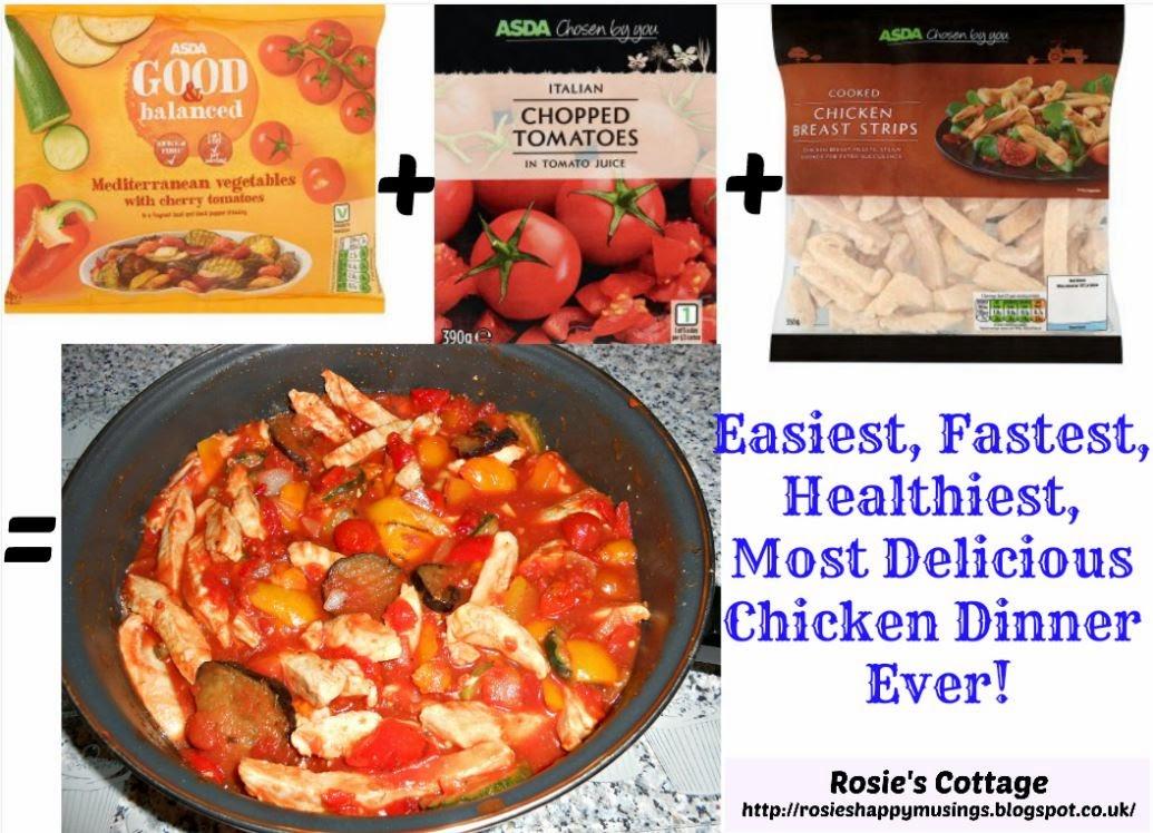 Chicken with Mediterranean Vegetables Recipe