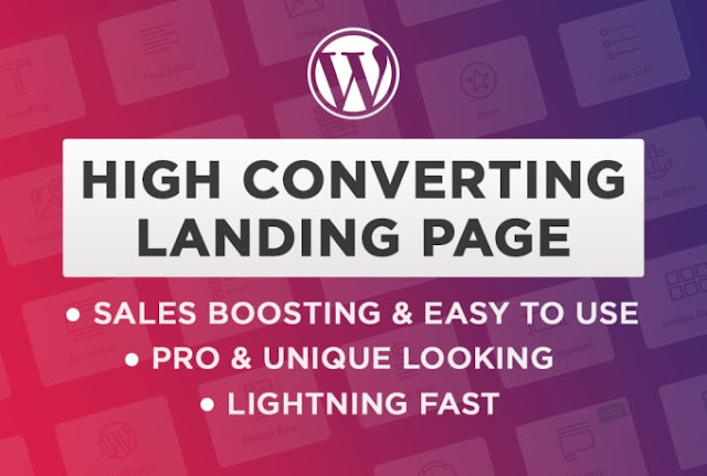 Build custom wordpress landing page that converts - Landing Page - Wordpress