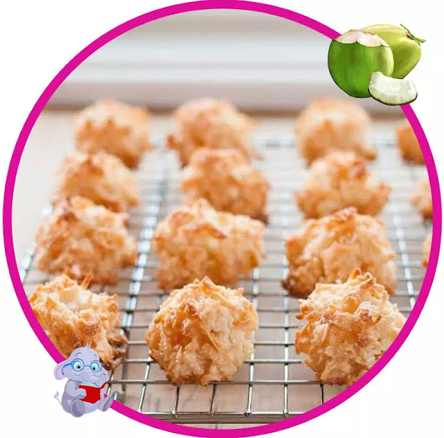 Macaroon is also a high-calorie cake, so it can meet the calorie needs of the body when winter arrives. In every 100gr Coconut Macaroon contains 404 calories. The Macaroon has been a family favorite for decades. The warm goodness of a sweet treat.
