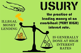 What is usury (Riba)