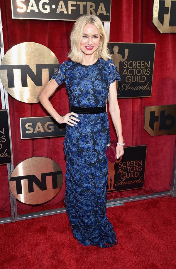 Best Dressed-SAG Awards 2016, Naomi Watts at SAG Awards 2016