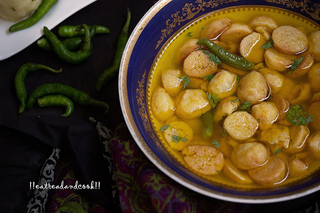 Bori Chechki / Bengali Sundried Dumplings recipe / Bengali Bori Recipe / Simple Bengali Bori Stew recipe with step by step pictures