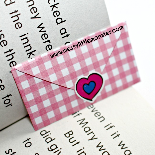 hide secret love notes for kids to find.  valentines day activity