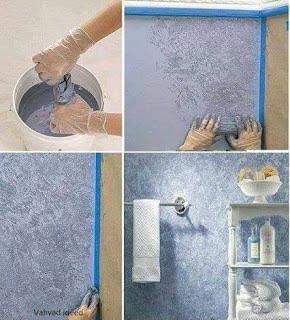 10 Trik Simpel Mengecat Dinding ini Hasilnya Wow Banget Lho !! Kamu Mau Coba ?? Nggak Perlu Panggil Tukang Cat !!