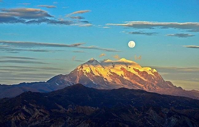 """Illimani, el """"gigante"""" nevado fuente de inspiración"""