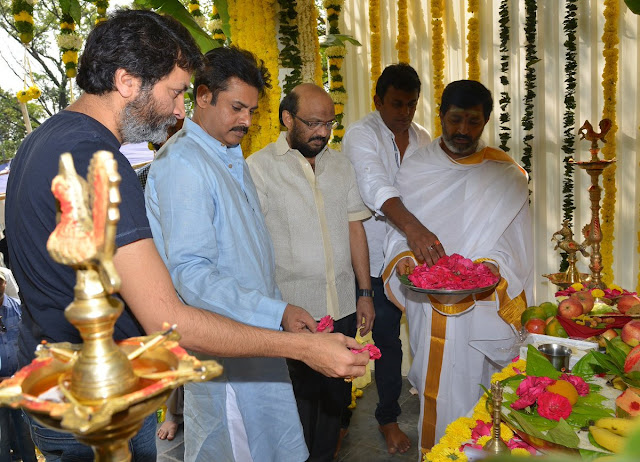 Pawan kalyan Trivikram New movie Launch HD Photos