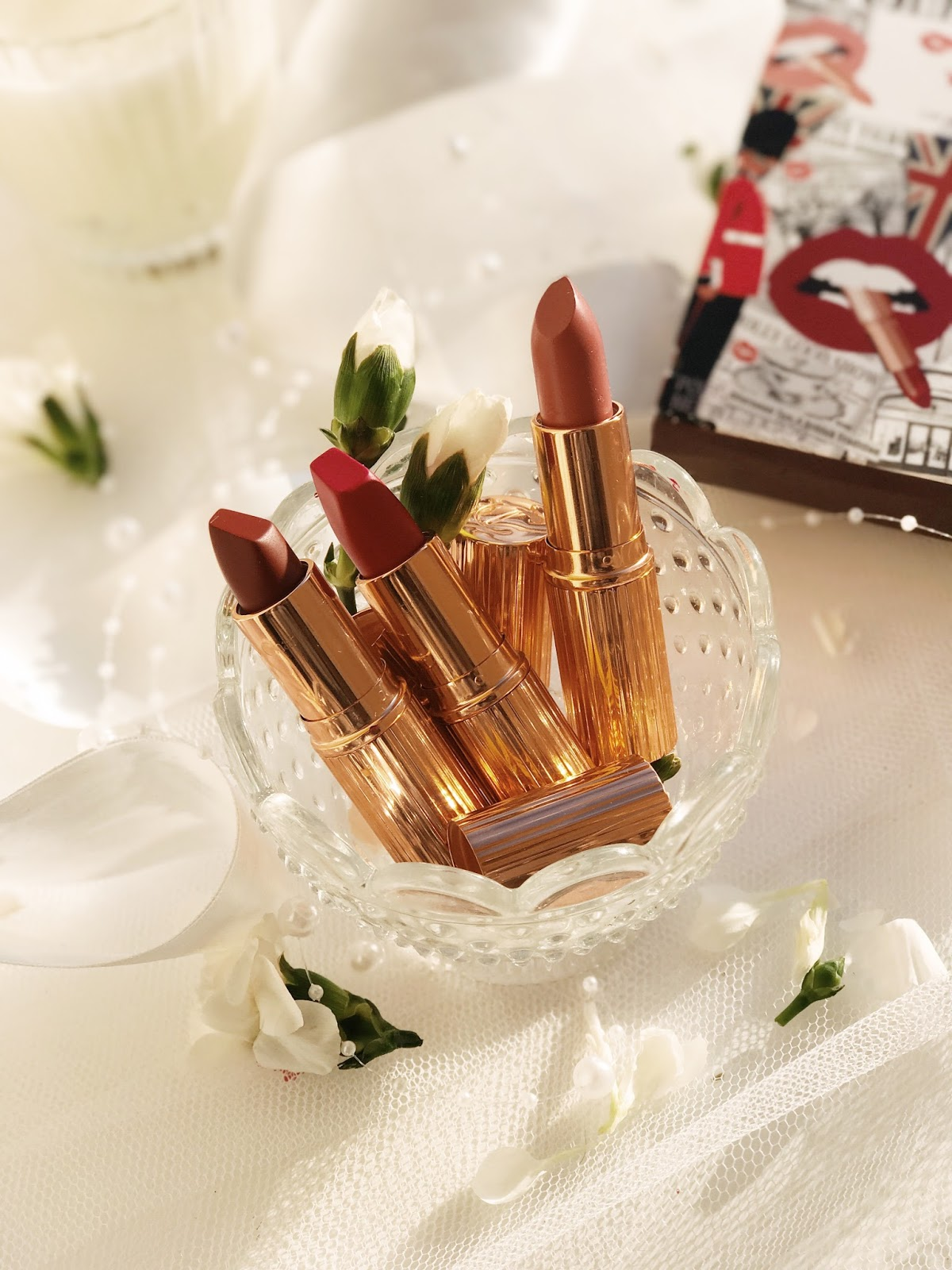Charlotte Tilbury Your Lip Service Royal Lipstick Trio