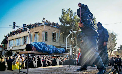 Medieval and barbaric: Public flogging in the Islamic Republic of of Iran