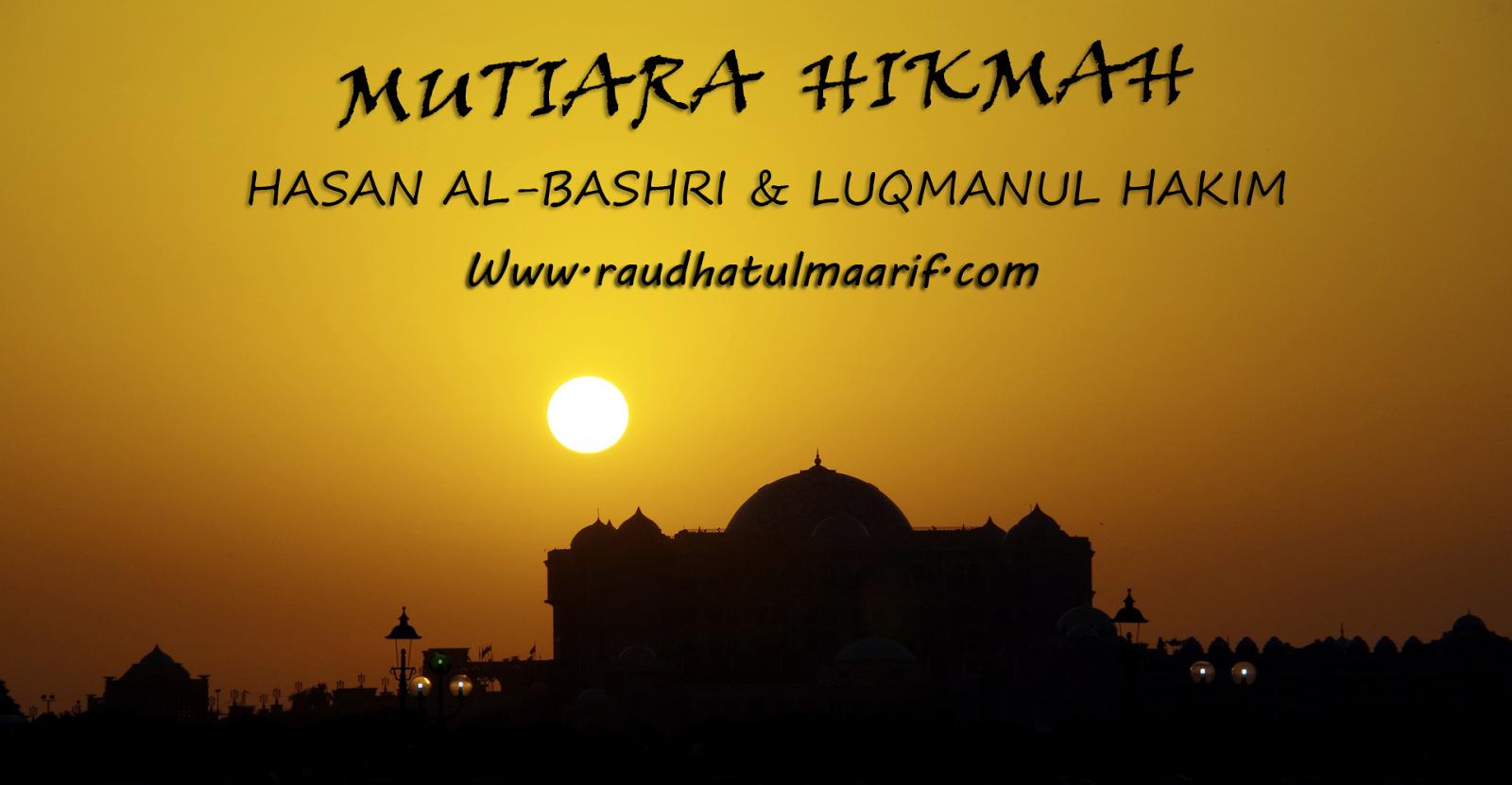 101 Mutiara Hikmah Dari Imam Hasan Al Bashri Bagian I Lpi