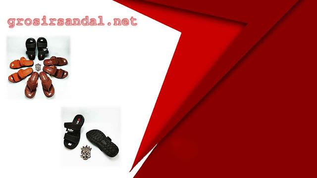 sandal pria dewasa   sandal imitasi garut   size 38-42