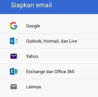 cara menambah akun gmail di laptop
