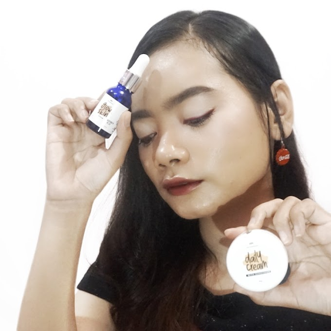 Review SkinHouse Glow Skin Serum & Daily Cream with Sunscreen