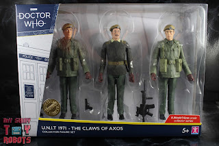 Doctor Who UNIT 1971 - The Claws of Axos Set Box 01