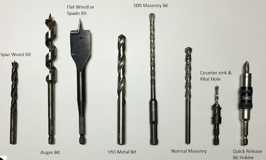 Electrical Blog: Drill Bits Types