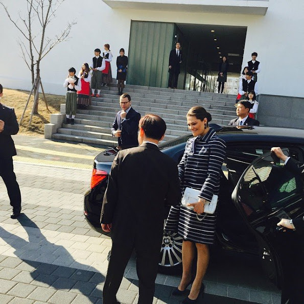 Princess Victoria visits South Korea - Day 3 (last)
