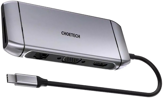Review Choetech HUB M15 9 in 1
