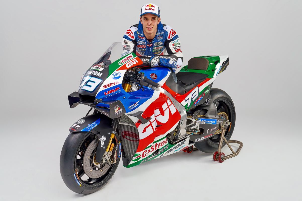 Alex Marquez resmi gunakan seragam tim LCR Honda Castrol di MotoGP 2021