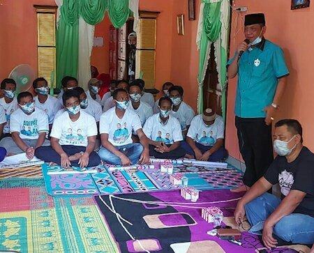 Kampanye Cawabup No Urut 2 Di Kecamatan Kota Agung