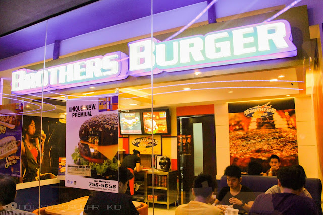 Brothers Burger Branch in Lucky Chinatown Mall in Binondo