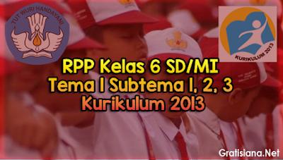 kumpulan RPP Kelas 6 SD/MI Tema 1