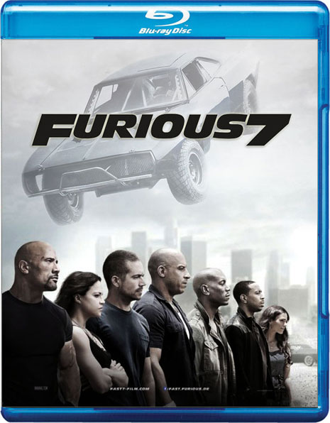fast and furious 7 blu ray 1080p neo gifts. Black Bedroom Furniture Sets. Home Design Ideas