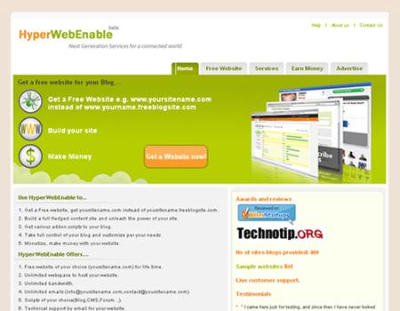 Contoh webiste statis sendiri adalah berupa web search engine, web