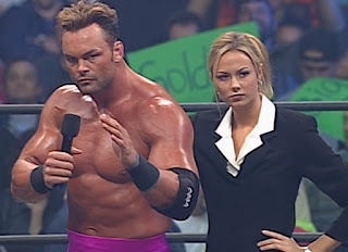 WCW Greed 2001 - Shawn Stasiak and Stacy Keibler were a thing