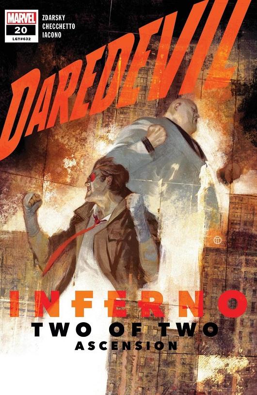 Cover of Daredevil #20
