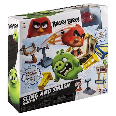 TOYS : JUGUETES - ANGRY BIRDS La Película  Pista Lanzadera : Playset  Sling and Smash Track Set   Producto Oficial de la peli | Bizak 2016 | A partir de 4 años  Comprar en Amazon España