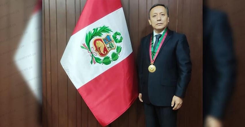 AMAG: Carlos Arias Lazarte es elegido presidente de la Academia de la Magistratura