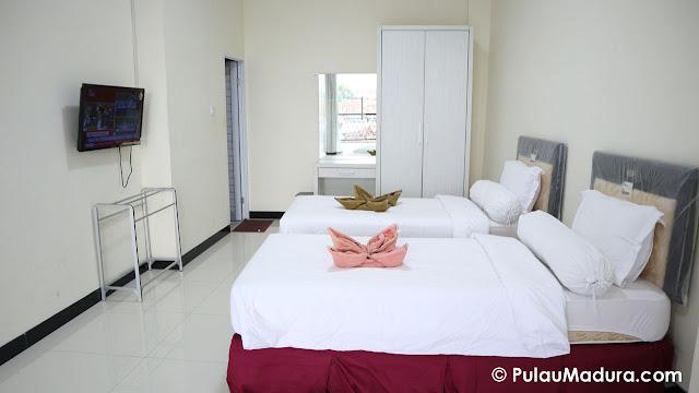 superior room hotel rose bangkalan