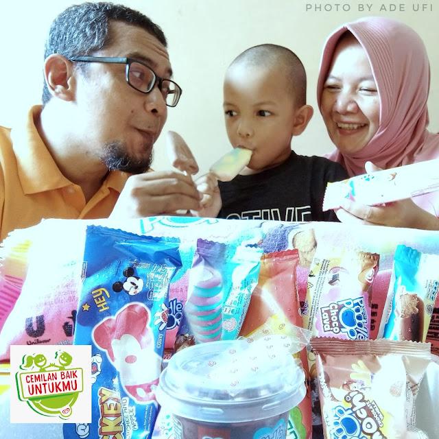 Cemilan baik untuk anak
