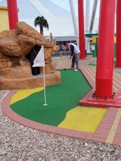Mini Golf at Fantasy Island in Ingoldmells