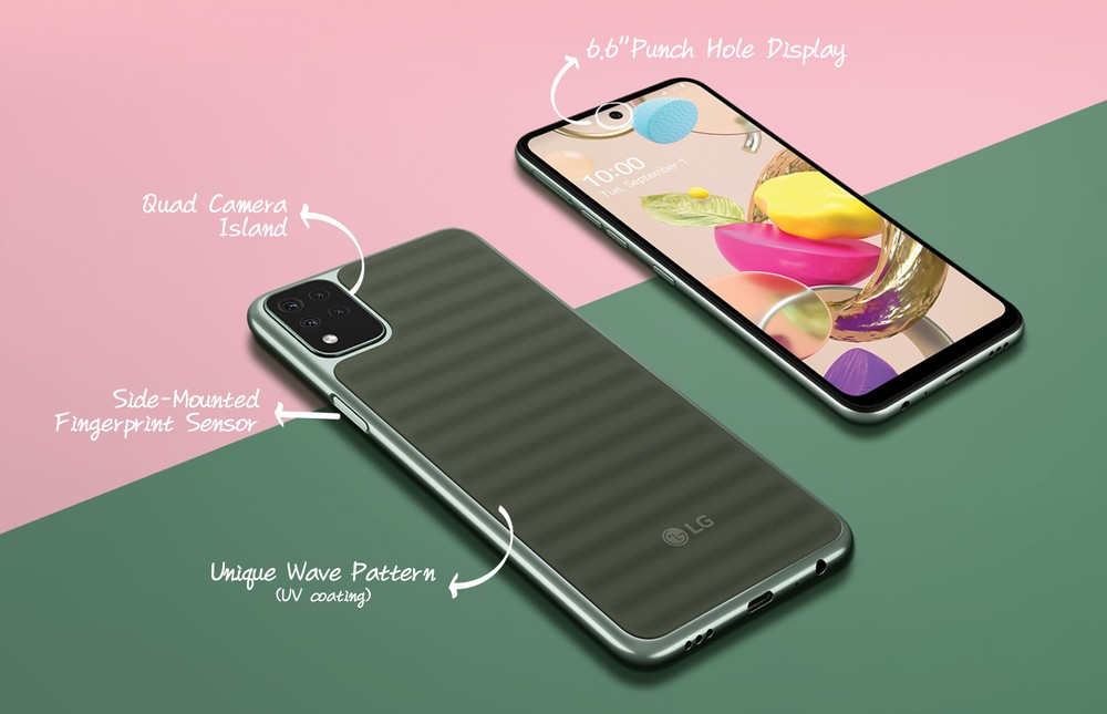 Nuovo LG K42 con innovativa back cover antigraffio