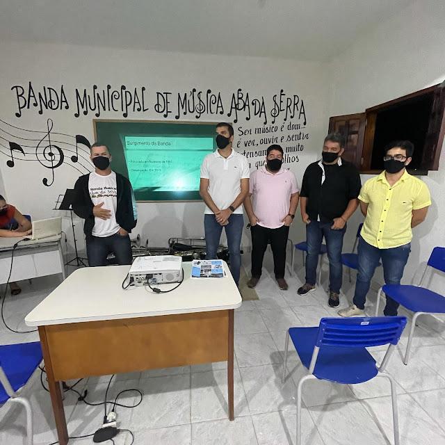 Banda Musical Aba da Serra retorna as atividades em São Joaquim do Monte