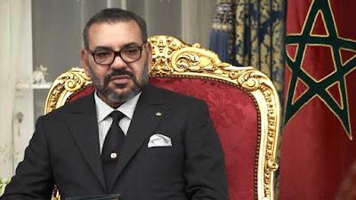 برقية تعزية ومواساة من الملك محمد السادس نصره الله  إلى أفراد أسرة المرحوم الفنان حمادي عمور
