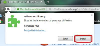 Cara merubah tampilan terbaru Mozilla